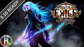 Path of Exile 3.6 - Cold Ethereal Knives Build - Elementalist Witch -  Synthesis
