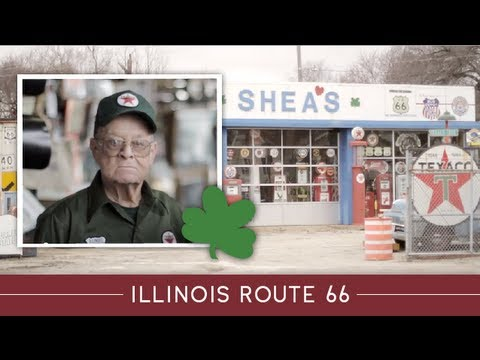Illinois Route 66 Stories- Shea's Gas Station Museum, Springfield