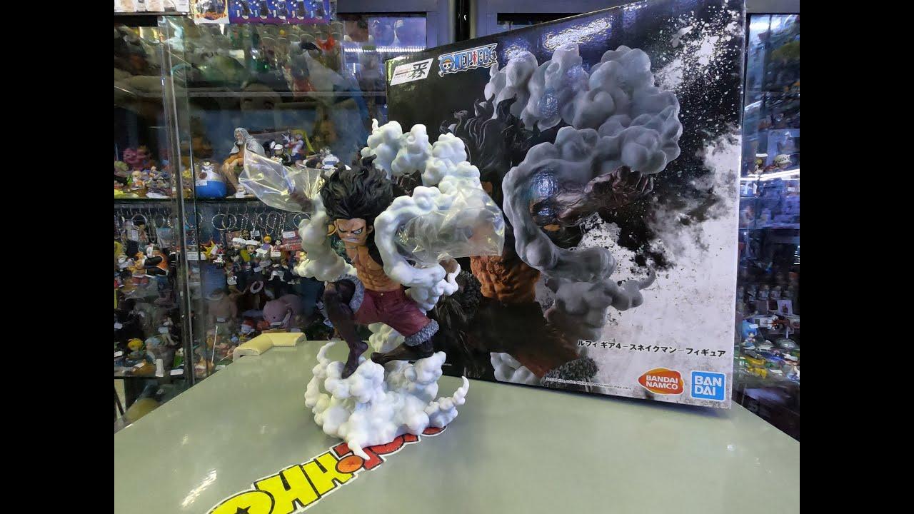 Banpresto One Piece Ichibansho Figure Luffy Gear 4 Snakeman Battle Memories