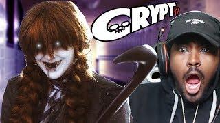 MOVIE NIGHT #6   CRYPT TV Shelley Slasher REACTION