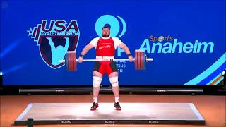 #Чемпионат мира 2017 год категория +105 кг | Anaheim USA Weightlifting