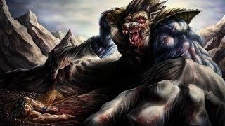 Son Goku vs Great Ape Vegeta  Speed Painting