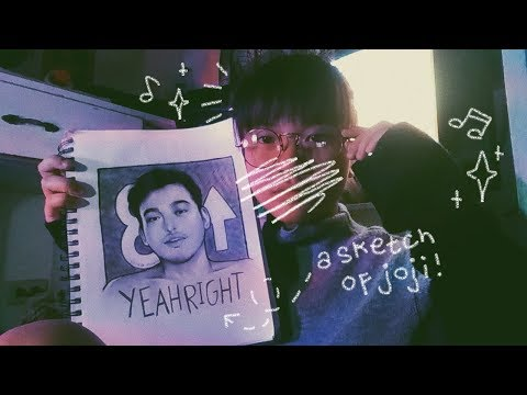 ☆ a cover + time-lapse sketch: yeah right by  joji ☆