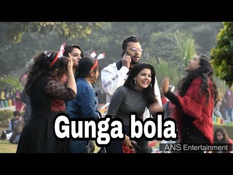 gunga prank 2019 | Dumb Prank In India | ANS Entertainment (NEW)