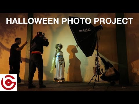 HALLOWEEN PHOTOGRAPHY PROJECT - Fort Lauderdale and South Beach