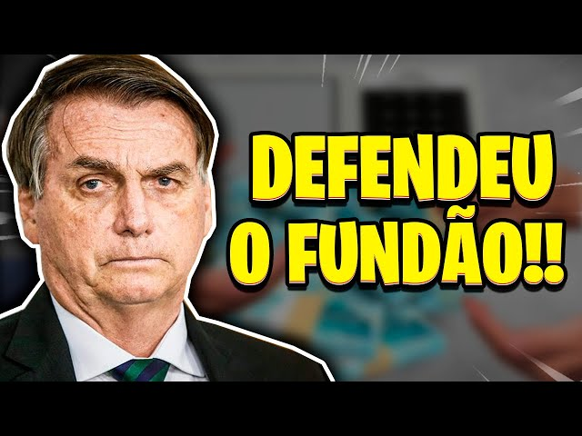 BOLSONARO MUDA DISCURSO E APOIA AUMENTO EM FUNDÃO ELEITORAL