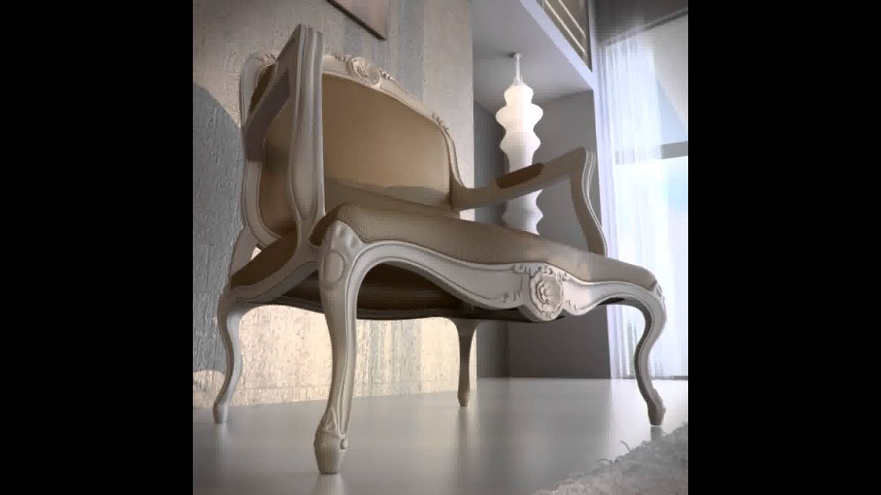Armchair On Youtube 3d Model Of Louis Xv Armchair Review Youtube