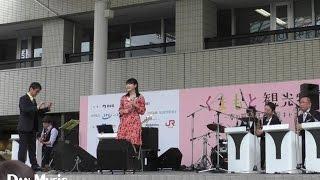 福岡市役所前広場ステージ(くまもと観光物産展)2017.4.15 Score:石田...