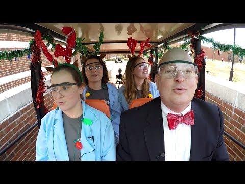 UT Martin Golf Cart Karaoke: Holiday Edition