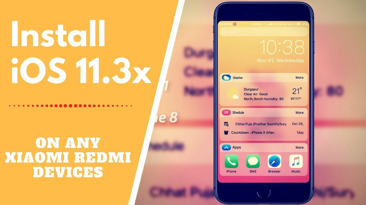 Iphone Xs Theme For Miui 10 Download