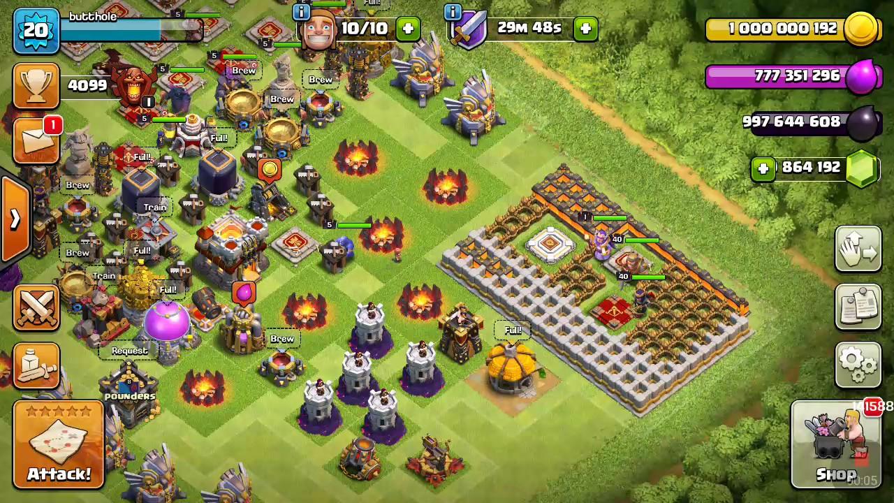 Magic S2 clash of clans