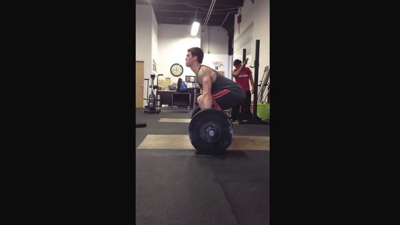 Building to power clean max 275, 280, 285, an then failed 295. #1
