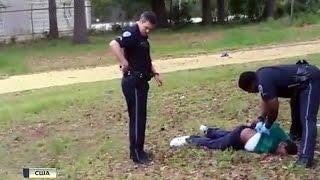 В США полицейский расстрелял безоружного негра: видео .