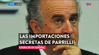 """""""Las importaciones secretas de Parrilli"""" en """"TN Central"""", de Wiñazki y Geuna - 08/02/17"""
