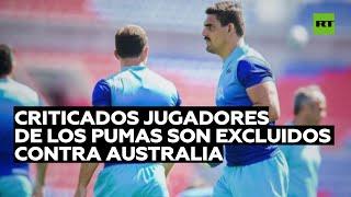 Jugadores de la selección argentina de rugby son excluidos del partido contra Australia