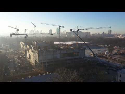 Budowa Muzeum Historii Polski na Cytadeli Warszawskiej (Grudzień 2019)