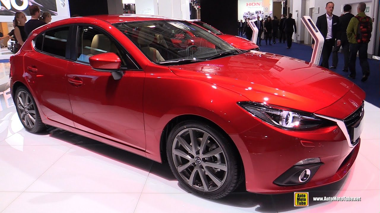 2016 mazda 3 diesel exterior and interior walkaround. Black Bedroom Furniture Sets. Home Design Ideas