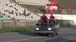 Выступление театра каскадеров г. Волжский 2016 год