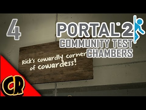DESIGNED FOR DANGER! | PORTAL 2: Community Test Chambers Story
