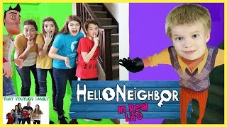 Most Challenging HELLO NEiGHBOR iN REAL LiFE / That YouTub3 Family streaming