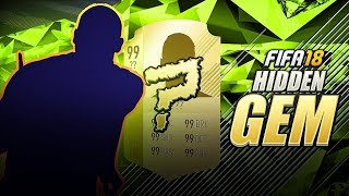 YOU NEED TO GET THIS CARD - NEW FIFA 18 HIDDEN GEM  !!! BEST AFFORDABLE BOX TO BOX MIDFIELDER !!!