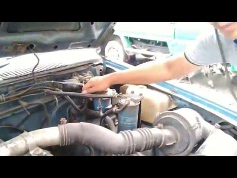 แนวทางการตรวจเช็คซ่อมรถยนต์ NISSAN BIC M อาการ ไดชาจไม่ชาจไฟเข้าแบตรี่ ตอนที่ 1