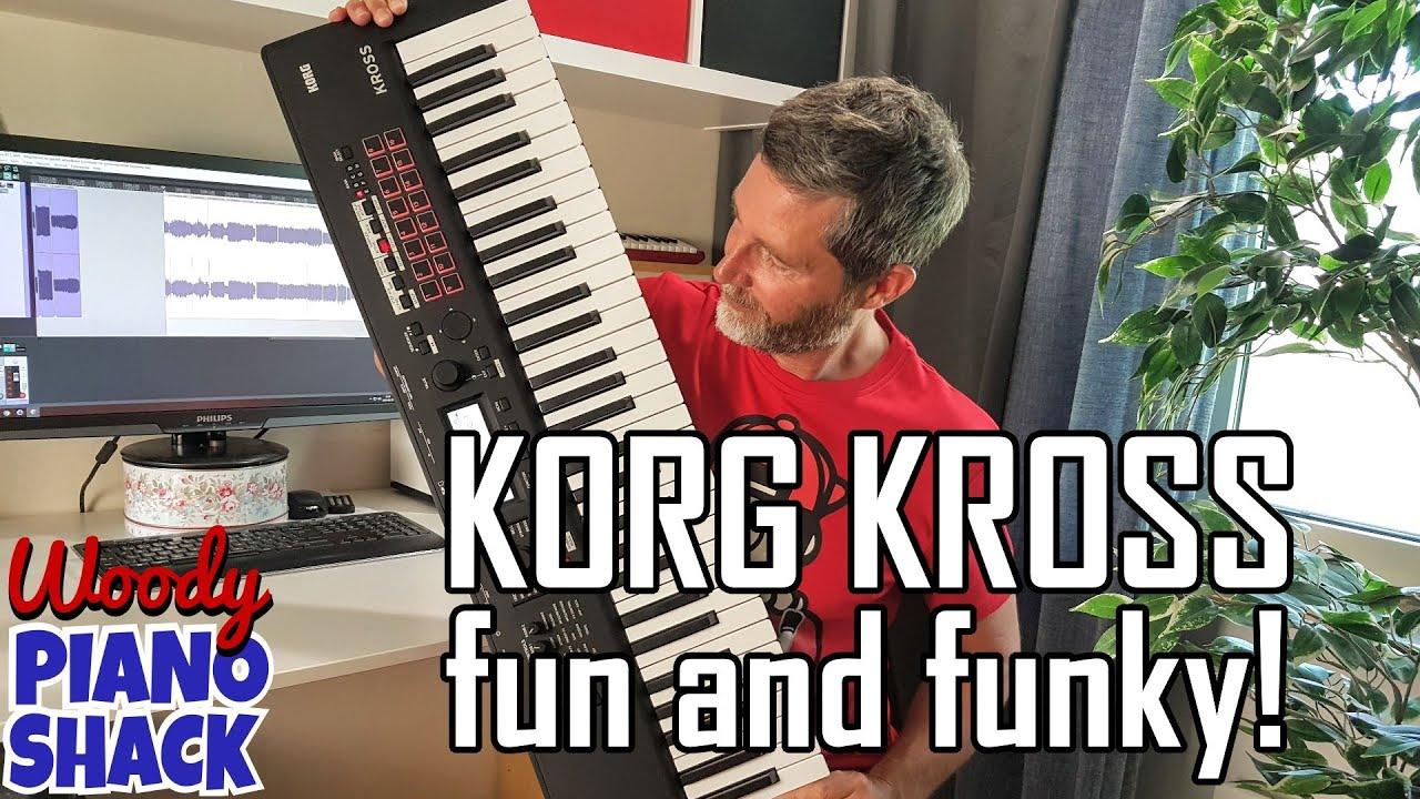 KORG KROSS 2 has some Wacky and Wonderful Sounds