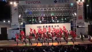 夜宵『act .15七福神』 第60回名古屋まつり久屋大通会場演舞