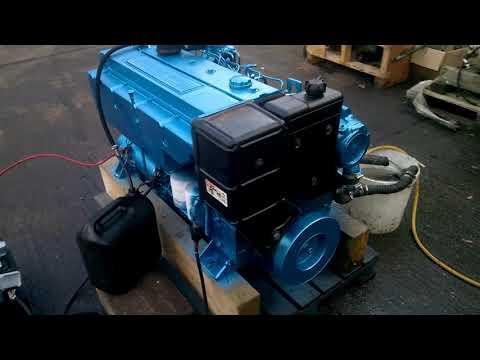 Perkins M130C Marine Diesel Engine & Borg Warner Gearbox