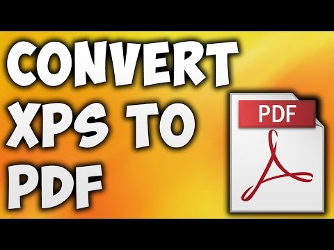 How To Convert XPS TO PDF Online - Best XPS TO PDF Converter