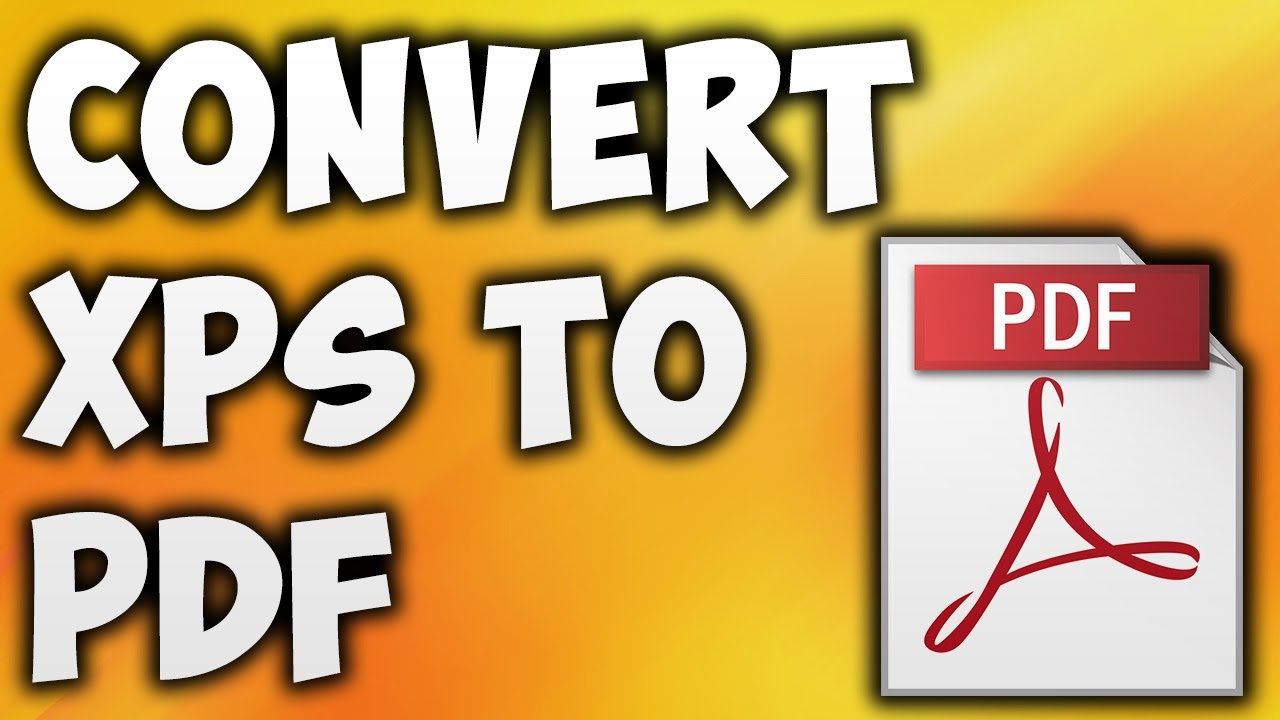 convert xps document to pdf online free
