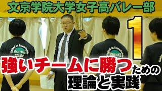 文京学院大学女子高バレー部 ~強いチームに勝つための理論と実践~ Disc1 sample