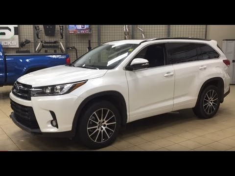 2017 toyota highlander se review youtube. Black Bedroom Furniture Sets. Home Design Ideas
