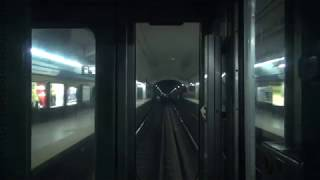 Buenos Aires地下鉄C線 名古屋市交通局5000形 全区間前面展望(Constitución→Retiro)