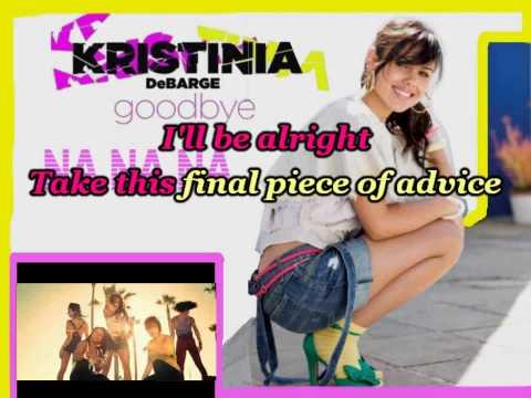 Goodbye (Karaoke/Instrumental) Kristinia Debarge