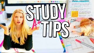Back To School: The Best Study Tips & Hacks + Organization tips!