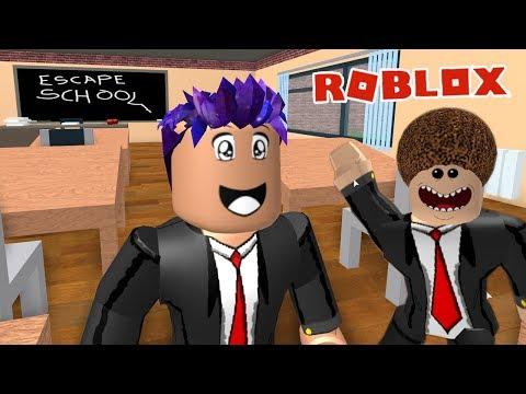Roblox: AUS SCHULE ENTKOMMEN! GEFÄHRLICHE SCHULE MIT LASERN & NERVIGEN LEHRERN! Escape School Obby