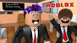 Roblox: FROM SCHOOL! DANGEROUS SCHOOL WITH LASERS & NERVIGEN LEHRERN! Escape School Obby