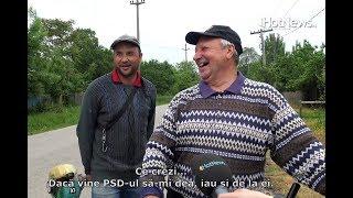 Cum voteaza cea mai saraca comuna din Romania De bine de rau, astia ne-a mai dat ceva...