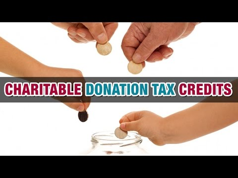 Charitable Donation Tax Credits - Tax Tip Weekly