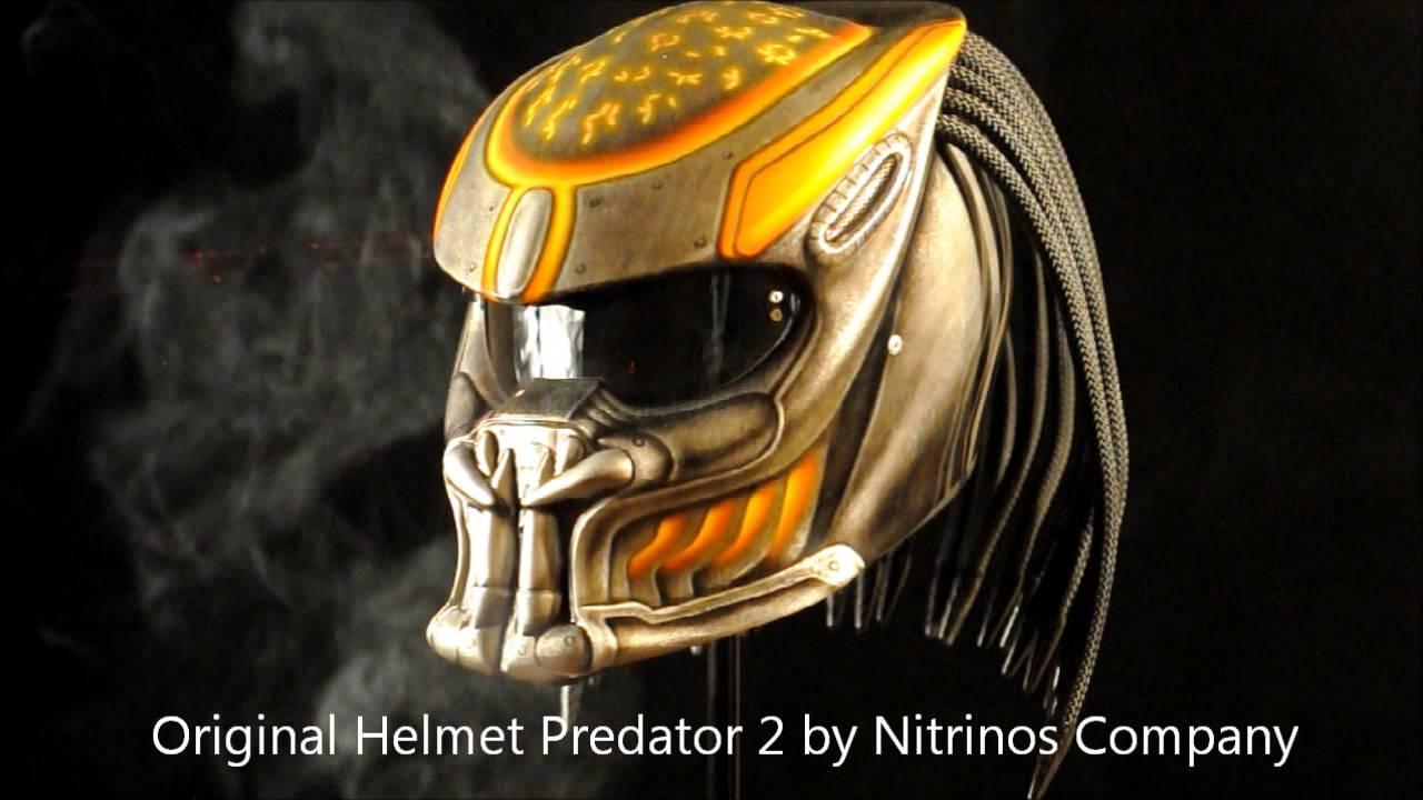 Carbon Fiber Motorcycle Helmet >> Helmet Predator - YouTube