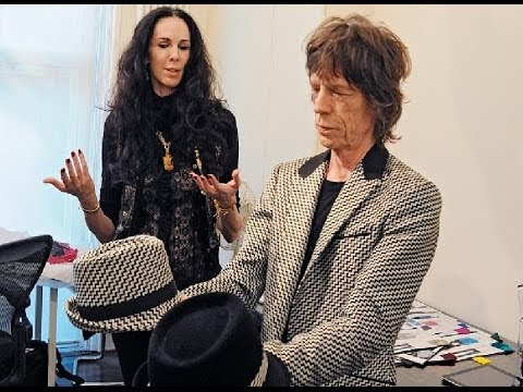 MICK JAGGER'S GIRLFRIEND HANGS HERSELF FROM DOORKNOB L'Wren Scott DEAD AT 47