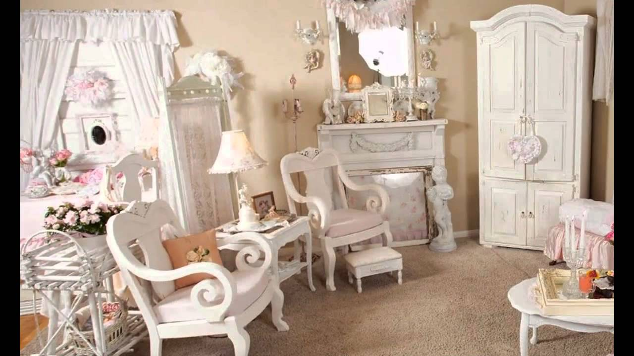 Stunning Shabby chic living room furniture - YouTube
