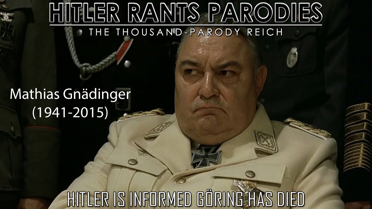 Hitler is informed Göring has died