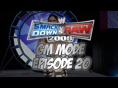SmackDown vs Raw 2008 GM Mode - Episode 20: The Great American Bash