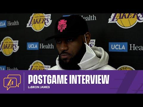 Lakers Postgame: LeBron James (5/2/21)