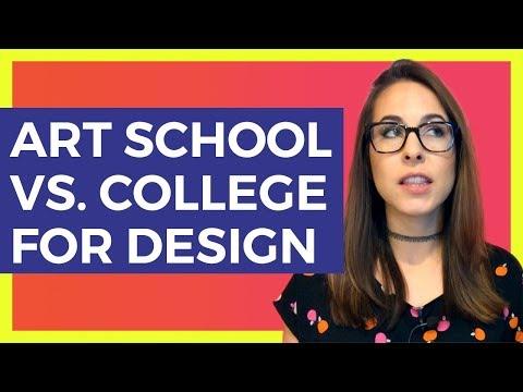 Art School vs. College for Graphic Design