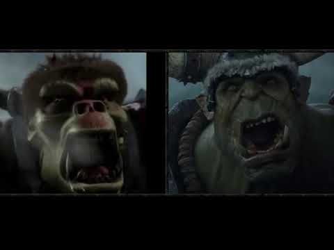 Warcraft III Remaster Opening Cinematic Compared to Classic