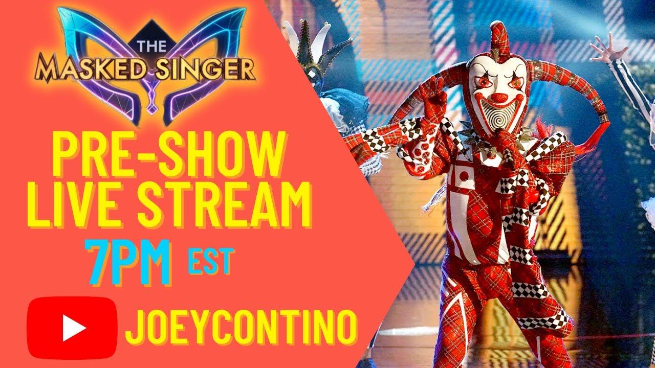 Download The Masked Singer Season 6 Episode 6 - Pre-Show Live Stream