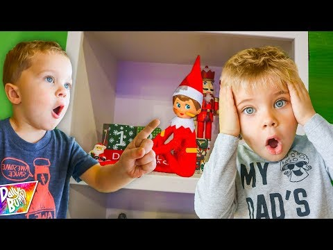 Our Elf on the Shelf GOT HURT! ✨ 🤕 (Who touched him??)
